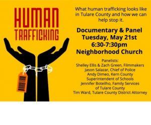 Human Trafficking Panel @ Neighborhood Church