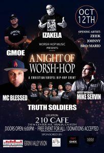 A Night of Worsh-Hop @ 210 Cafe
