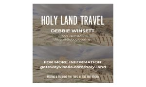 Holy Land Trip meeting @ Gateway Church