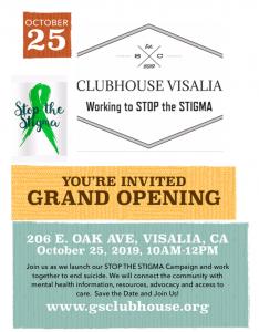 GRAND OPENING, Clubhouse Visalia @ Clubhouse Visalia