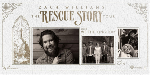Zach Williams  THE RESCUE STORY TOUR @ Visalia First   Visalia   California   United States