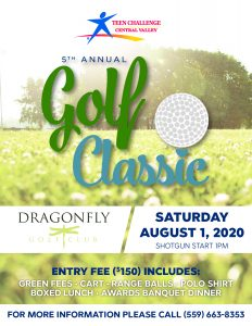 Central Valley Teen Challenge | 5th Annual Golf Classic