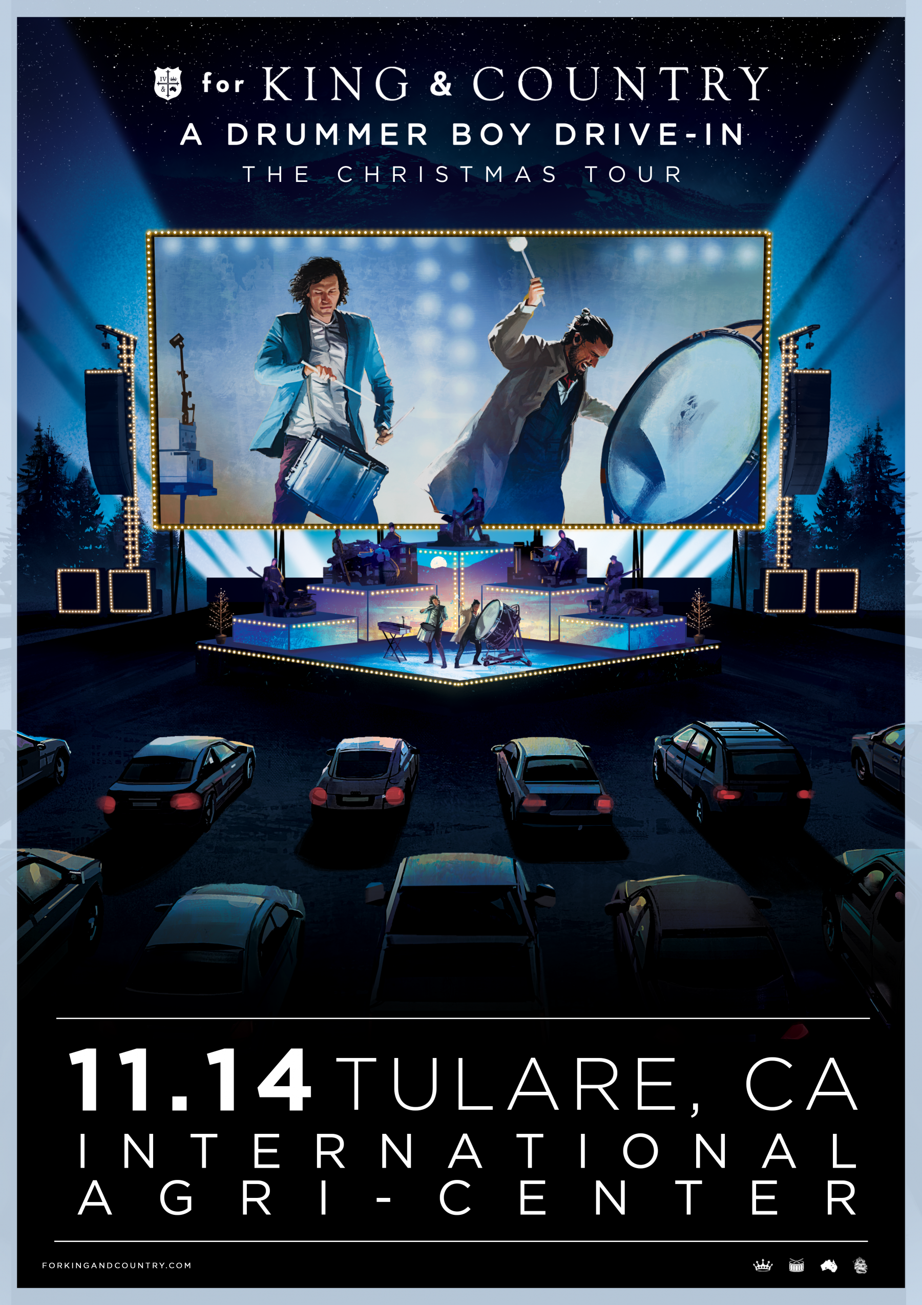 for KING & COUNTRY - Drive-In LIVE @ International Agri-Center | Tulare | California | United States