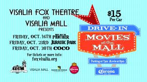Movies at the Mall, a Drive-In Experience @ The Visalia Mall | Visalia | California | United States