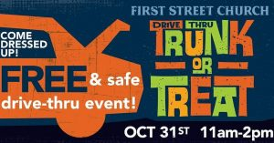 Drive-Thru Trunk or Treat @ First Street Church | Fresno | California | United States