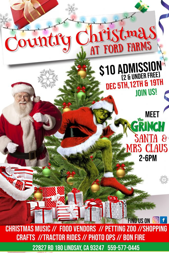 Country Christmas on the Farm! @ Ford Farms | Lindsay | California | United States